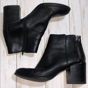 Aldo Ankle Leather Booties